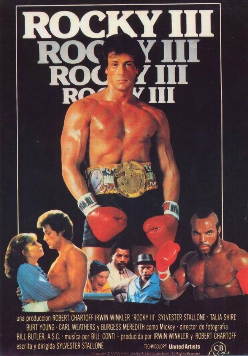 Rocky III (1982) Spanish poster