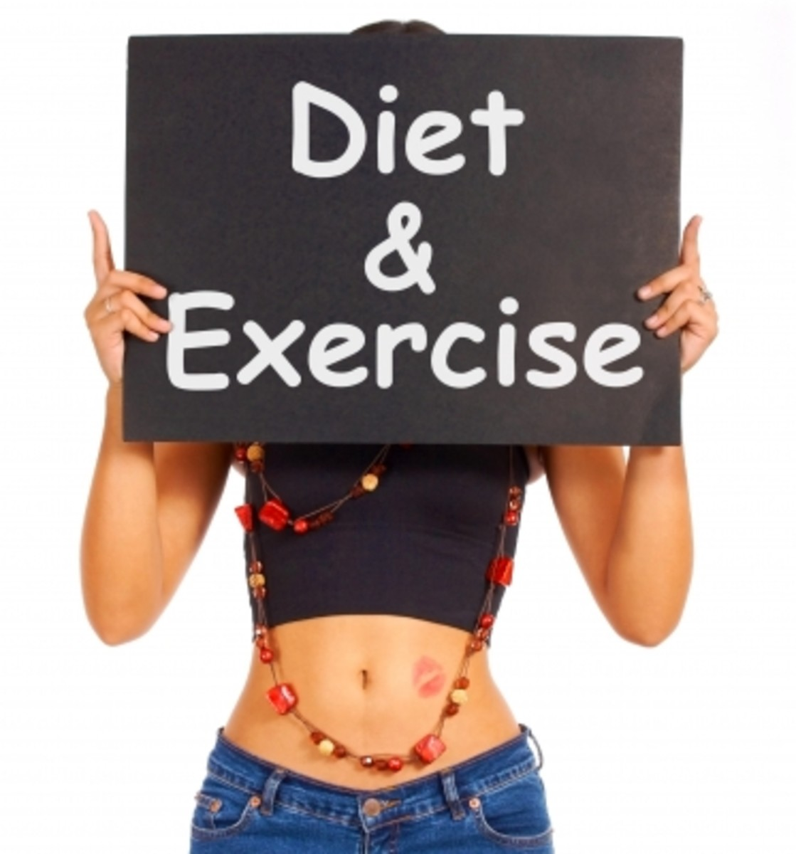 You certainly want to avoid diet and exercise if your goal is to be unattractive. With a healthy body it will be nearly impossible for people to see you as good looking.
