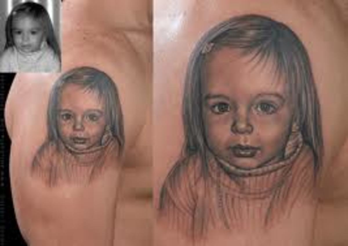 Portrait Tattoos And Designs-Portrait Tattoo Ideas And Meanings