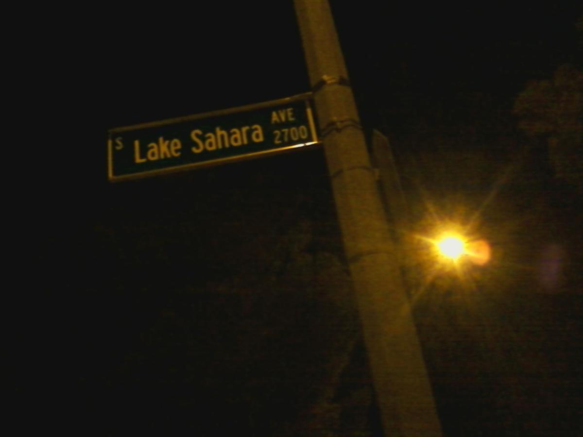 There is a Lake Sahara! And it is in Las Vegas!