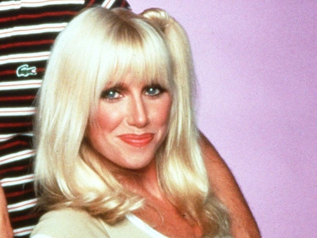 Suzanne Somers as Platinum Blonde Chrissy Snow