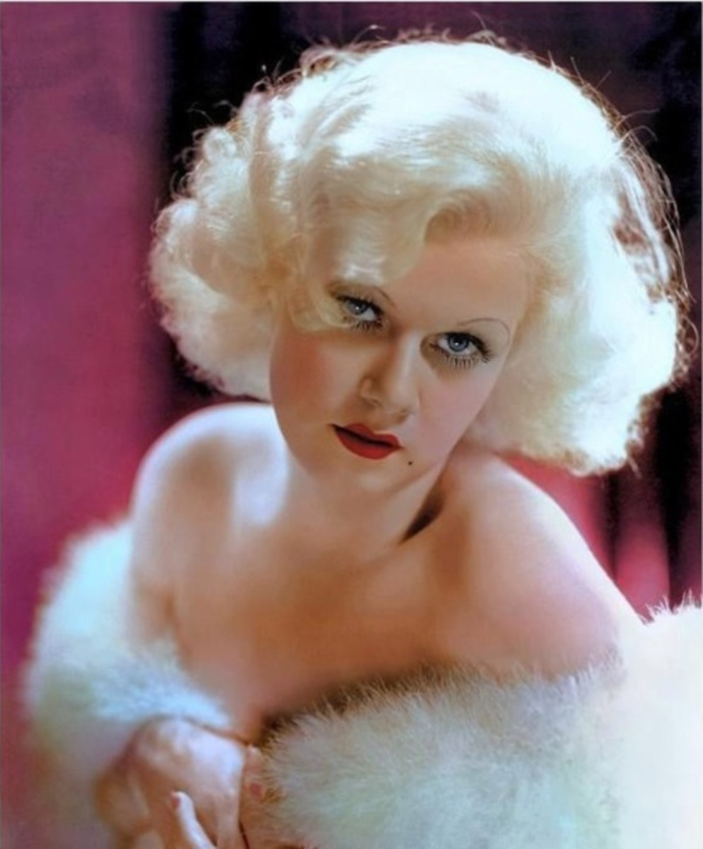 Jean Harlow with Platinum Blonde Hair