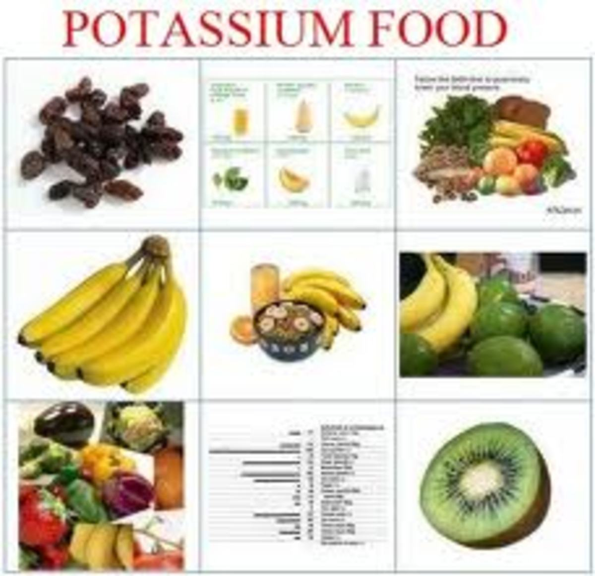 Avoid potassium rich foods while taking aldactone