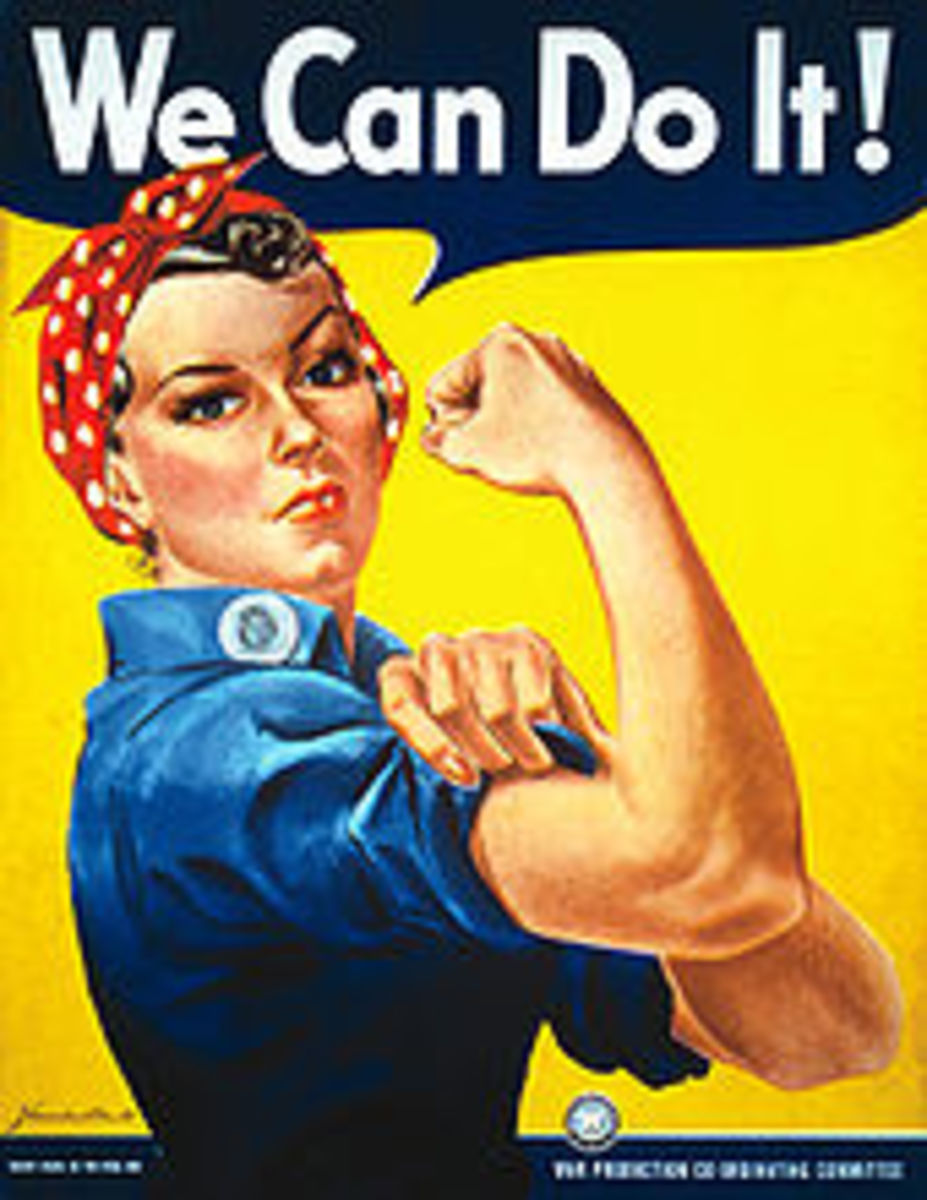 Women in World War 2-Rosie the Riveter
