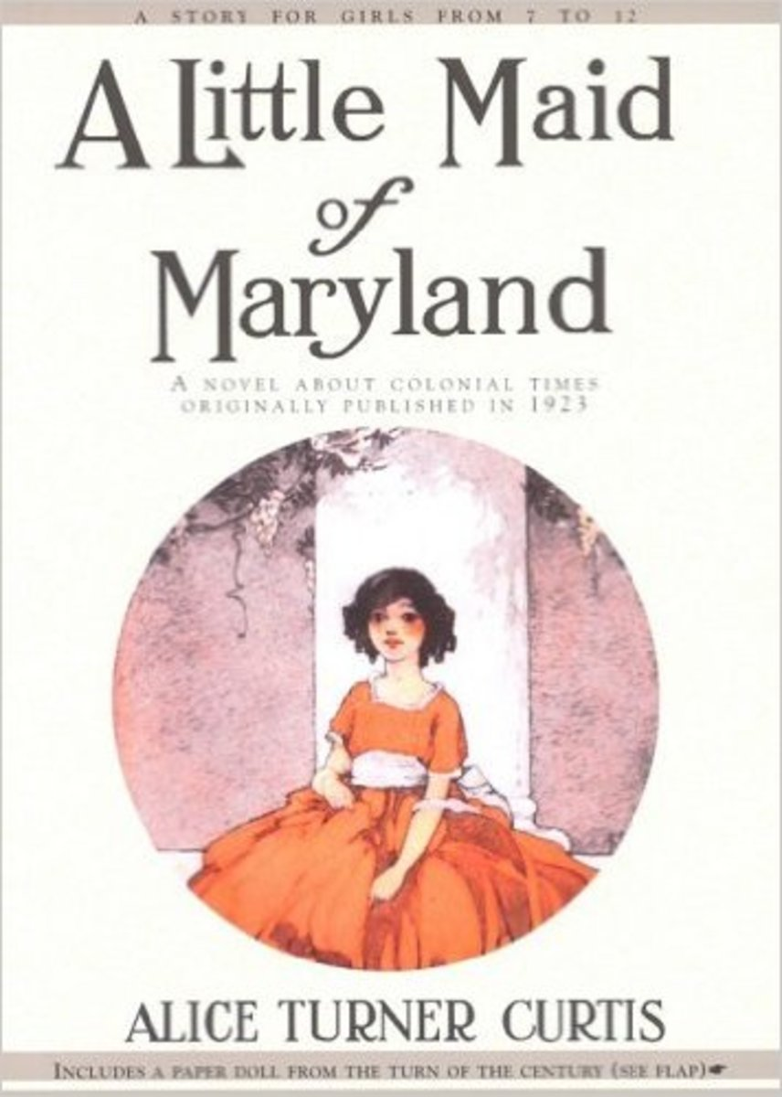 A Little Maid of Maryland by Alice Curtis