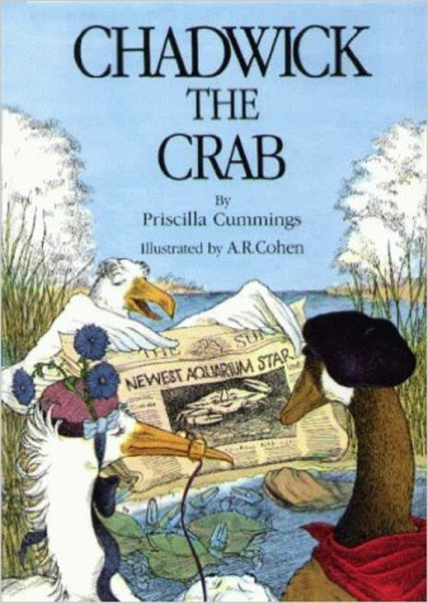 Chadwick the Crab by Priscilla Cummings - Image credits: amazon.com