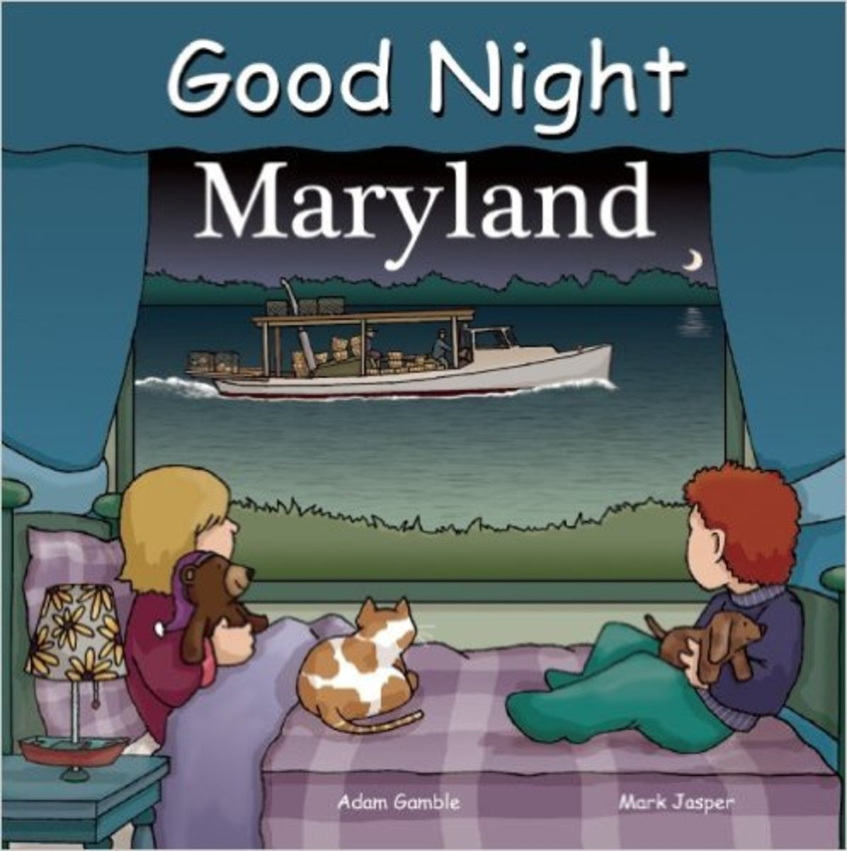 Good Night Maryland (Good Night Our World) Board book by Adam Gamble - Image credits: amazon.com