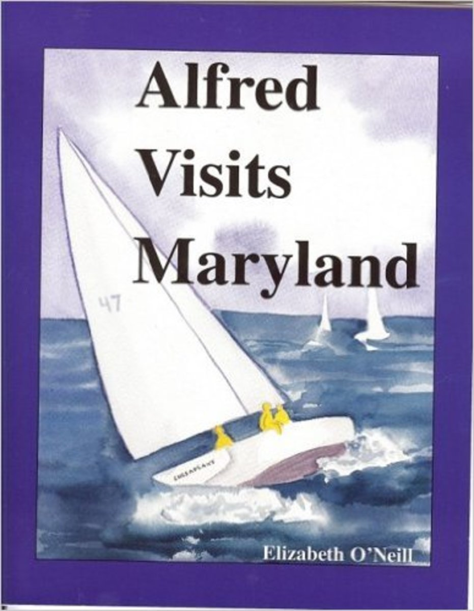 Alfred Visits Maryland by Elizabeth Oneill