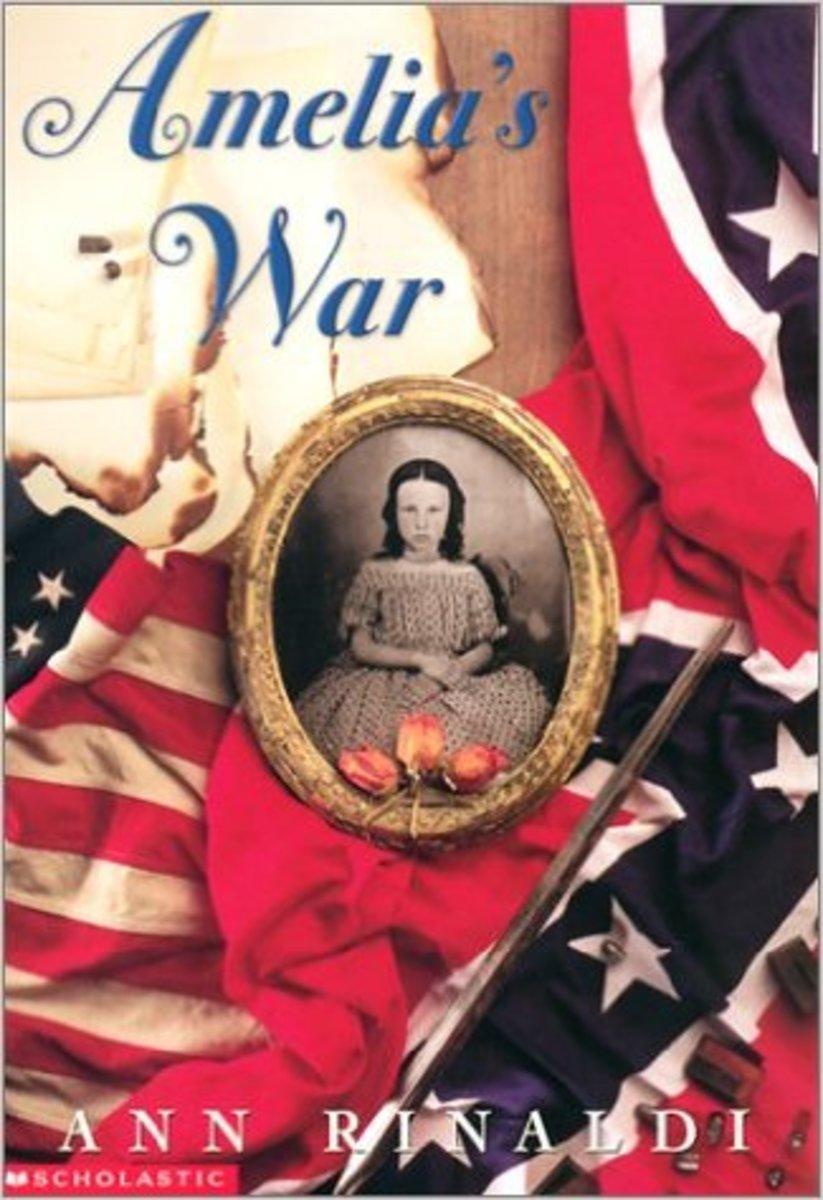 Amelia's War by Ann Rinaldi - Images credit: amazon.com