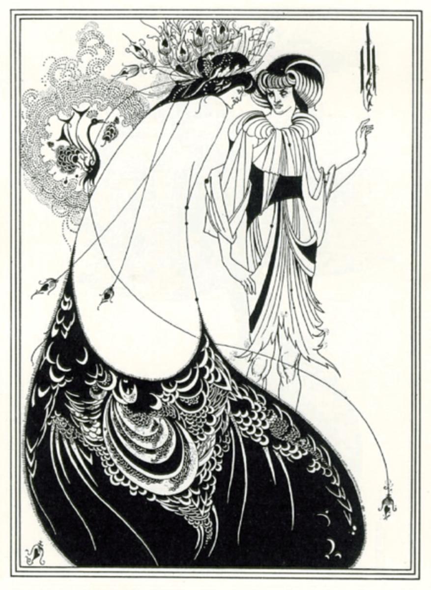 Aubrey Beardsley: Salome