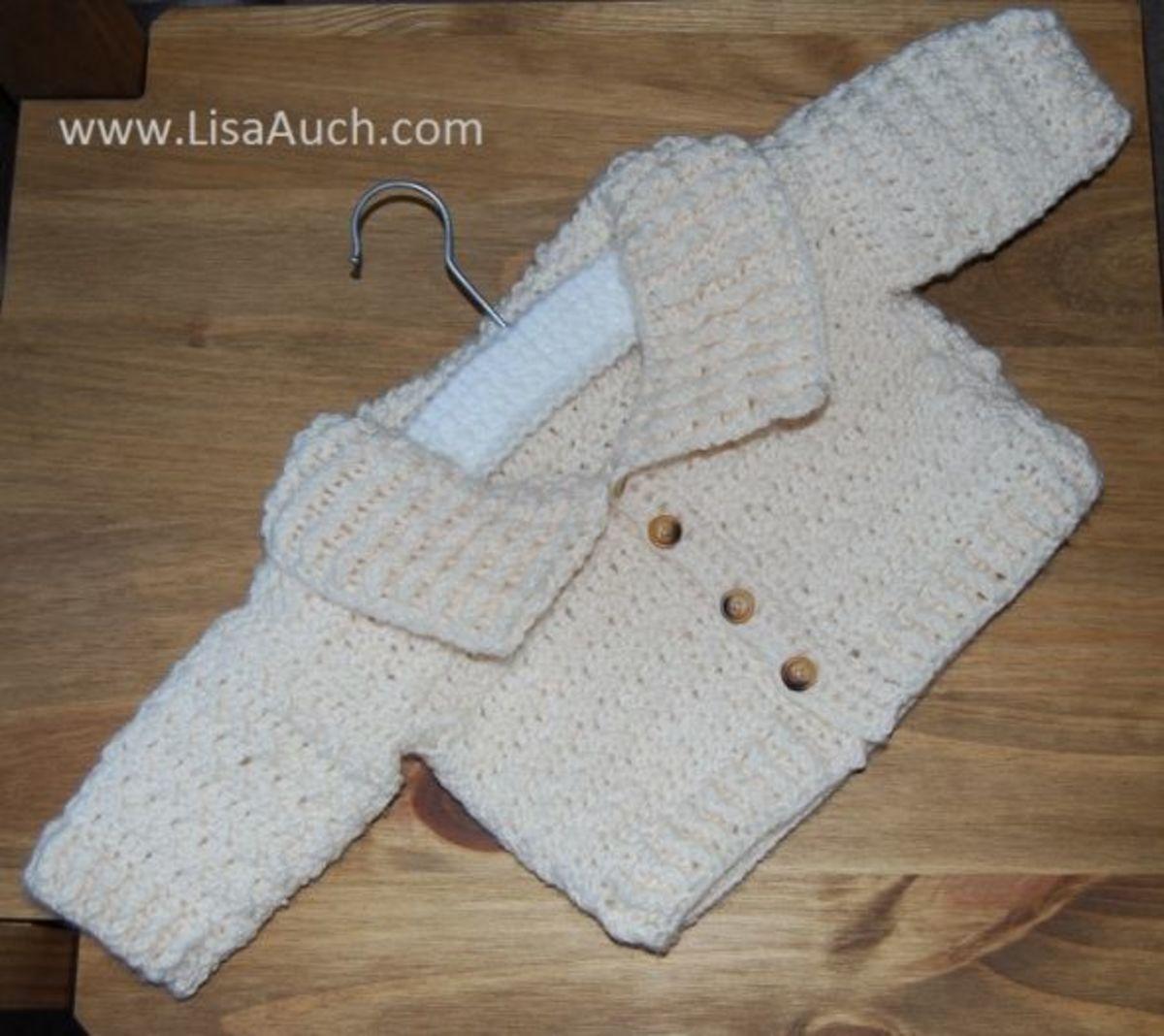 crochet cardigan-crochet baby sets-free crochet patterns-boys