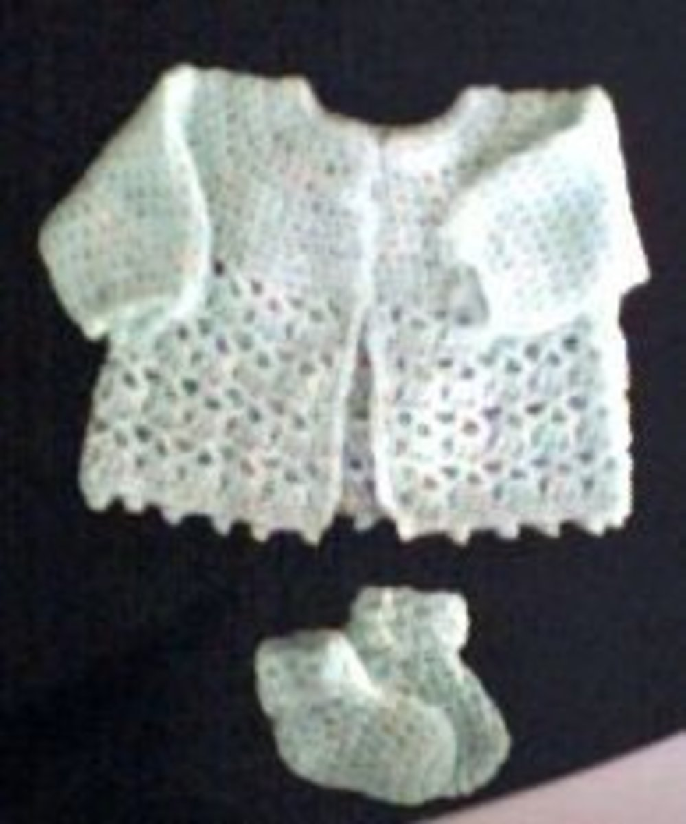 crochet cardigan-crochet baby sets-free crochet patterns