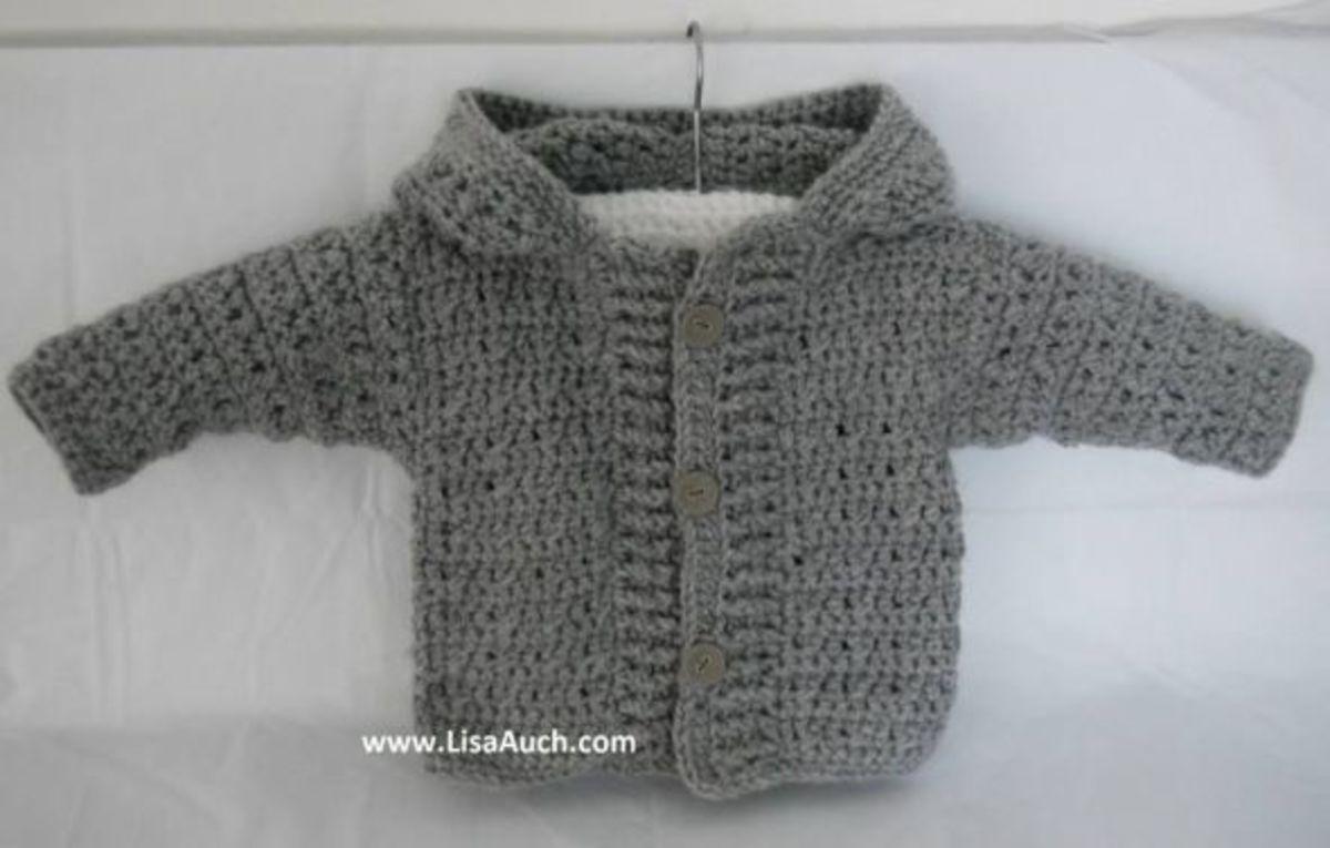 Free Double Crochet Baby Sweater Pattern : My Favourite FREE Crochet Cardigan Patterns and Crochet ...