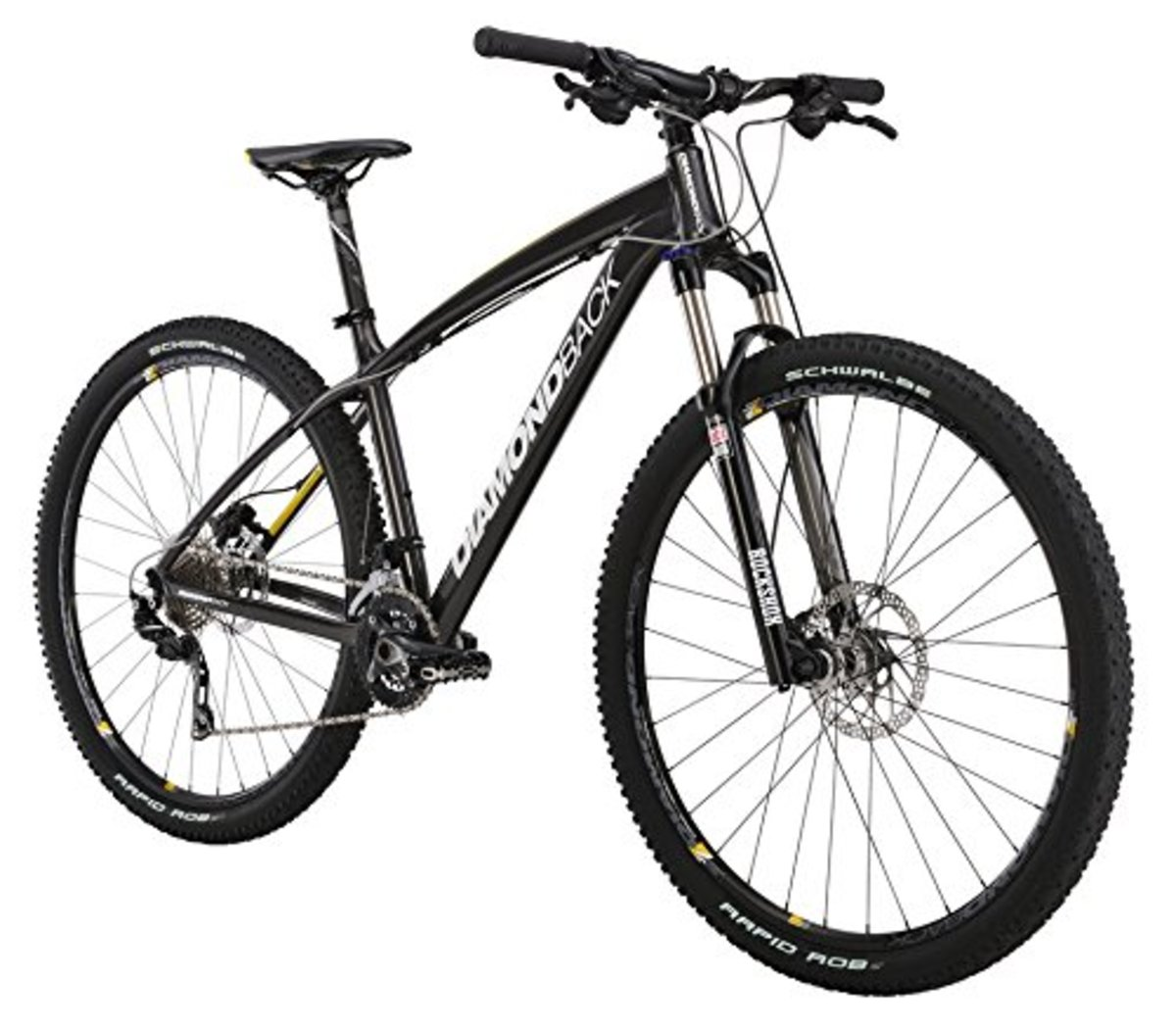 Diamondback Bicycles 2015 Overdrive Comp hardtail mountain bike.