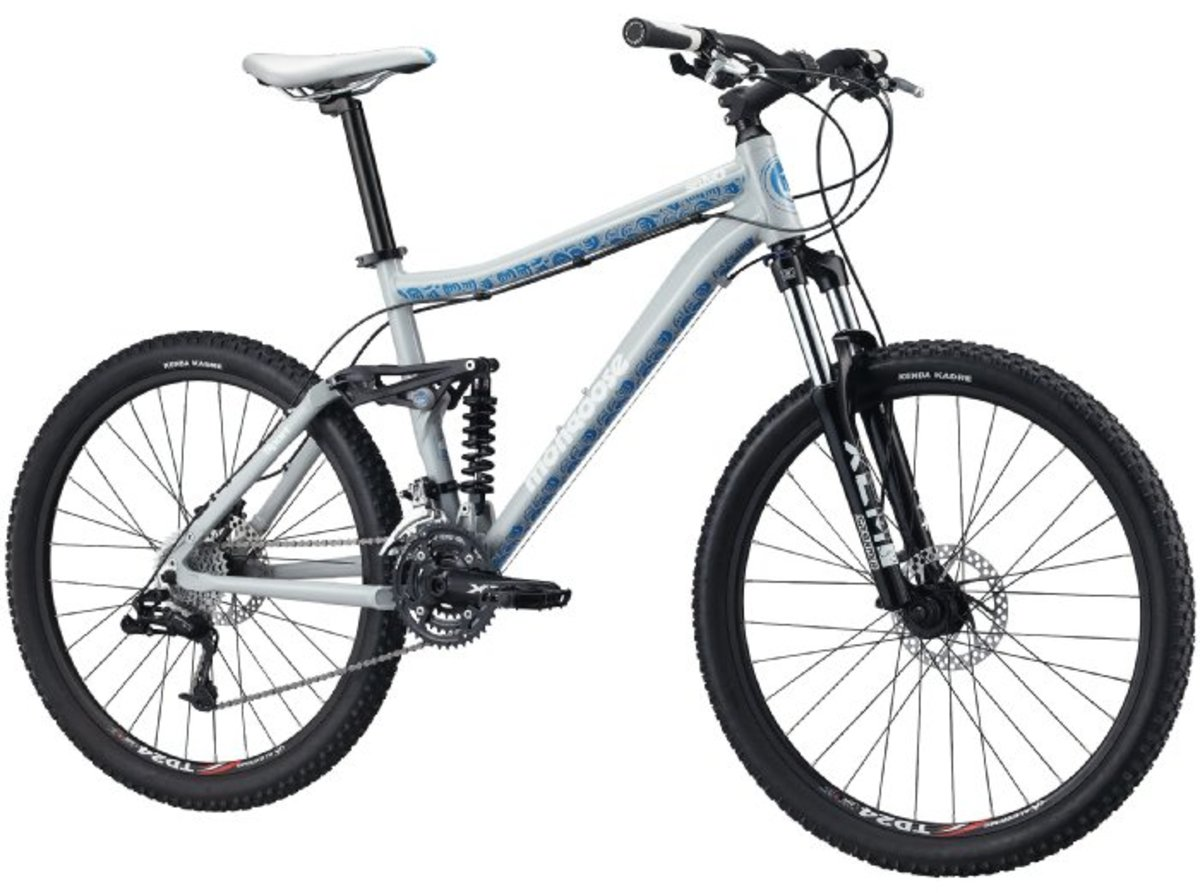Mongoose Salvo Sport Dual Suspension Mountain Bike with 26-Inch wheels.