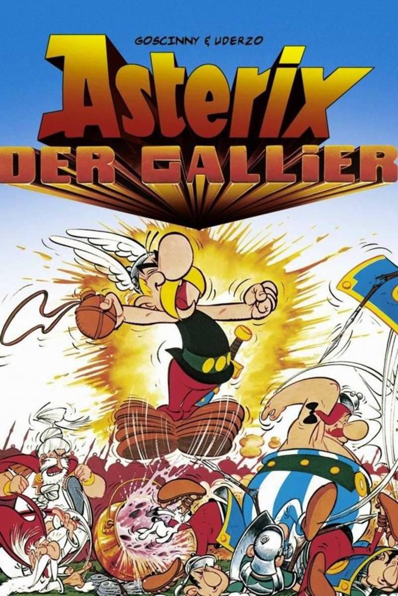 Asterix the Gaul (1967) German poster