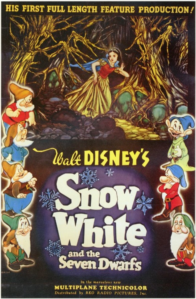 Snow White and the 7 Dwarfs (1937)