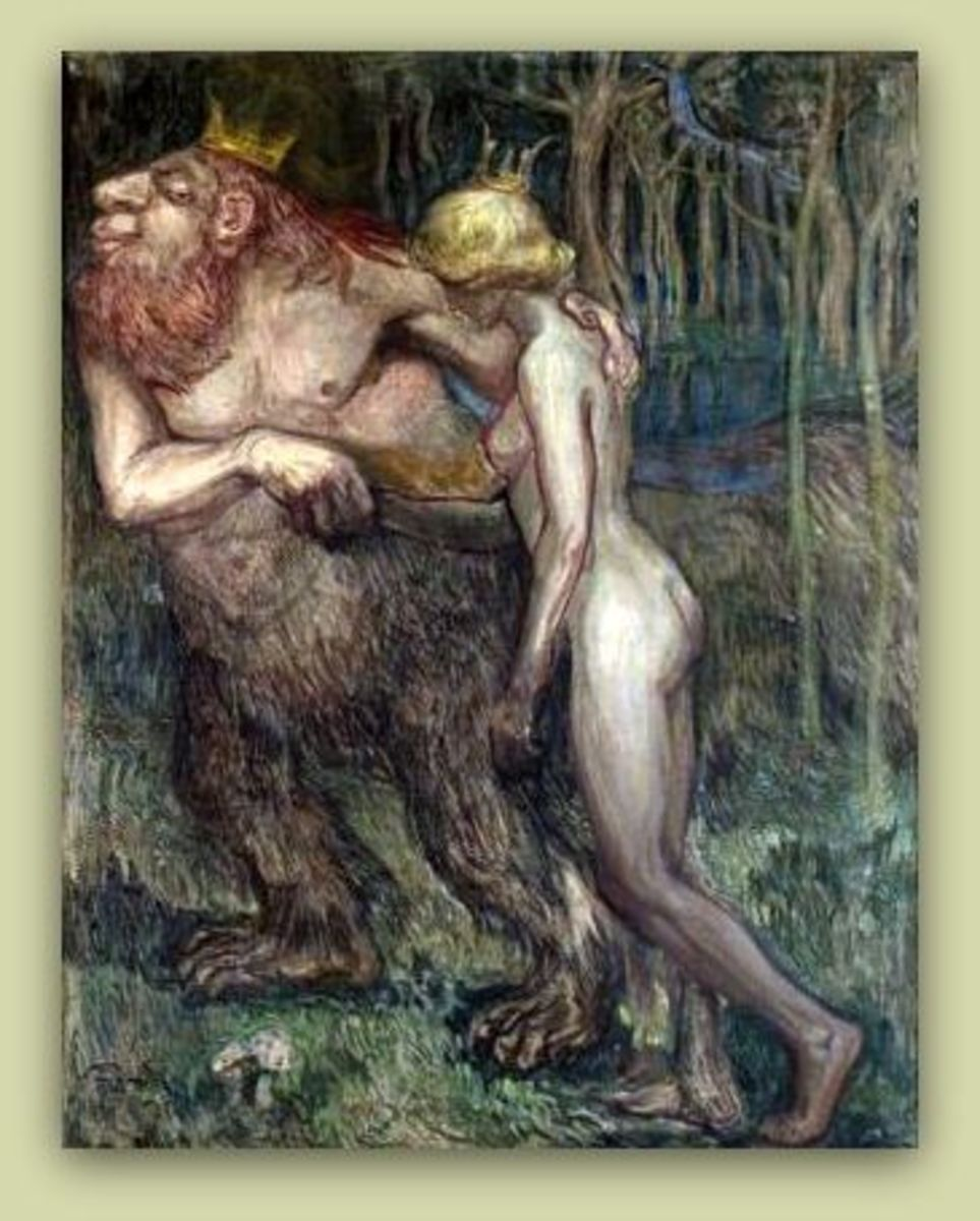 The Troll King and the Princess - 1905