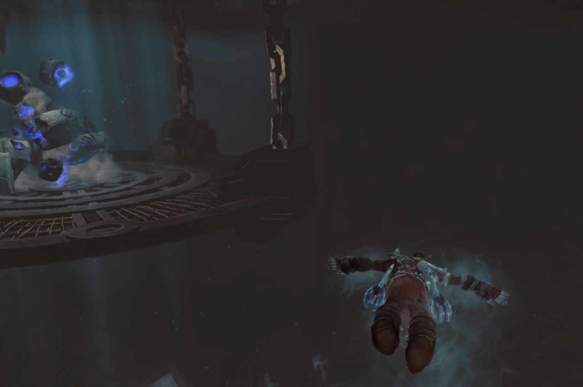Darksiders 2 find the right path through the foundry underwater passageway