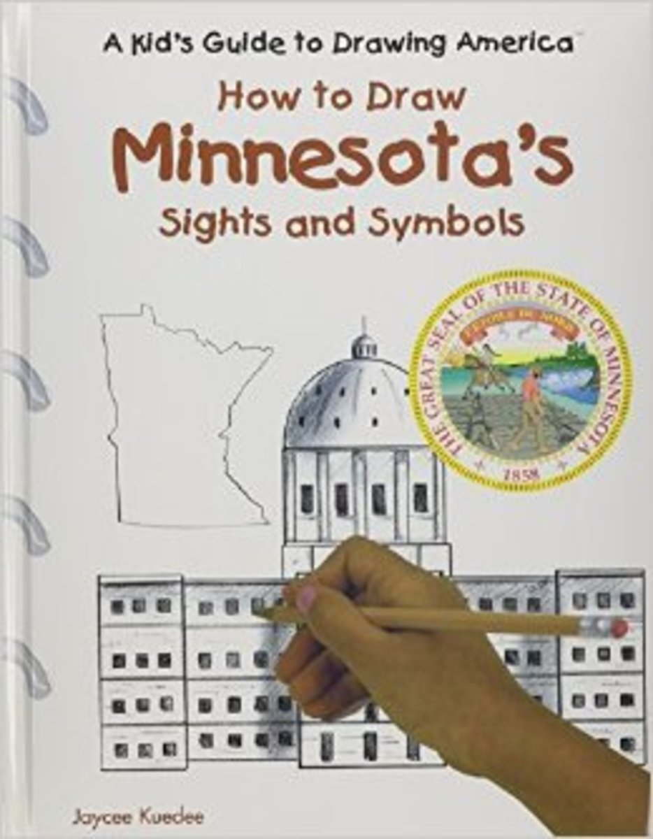 Minnesota's Sights and Symbols (Kid's Guide to Drawing America) by Jenny Deinard