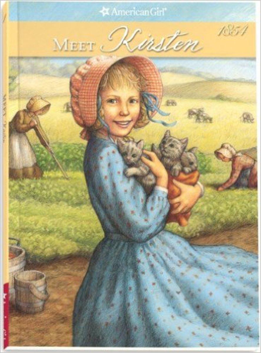 Meet Kirsten (American Girl: Kirsten, 1854) by Janet Shaw