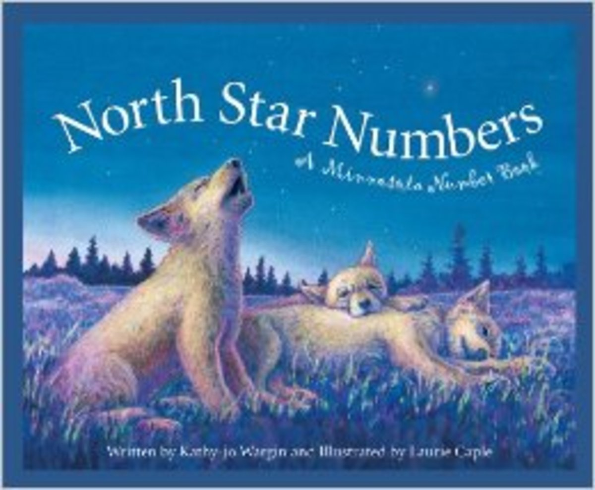 North Star Numbers: A Minnesota Number Book (America by the Numbers) by Kathy-Jo Wargin