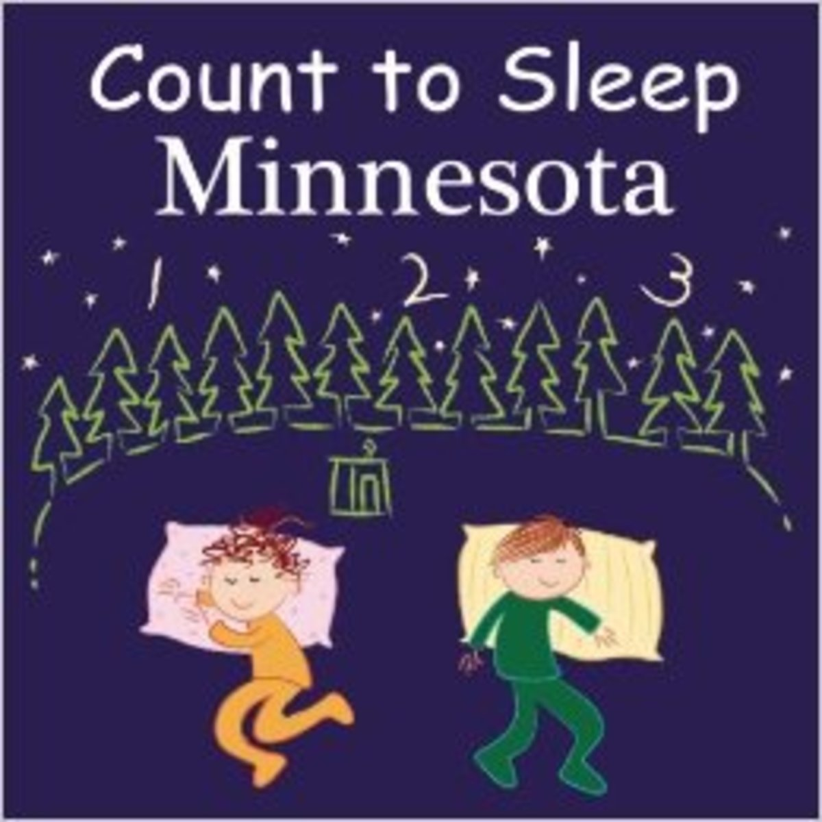 Count To Sleep Minnesota Board book by Adam Gamble