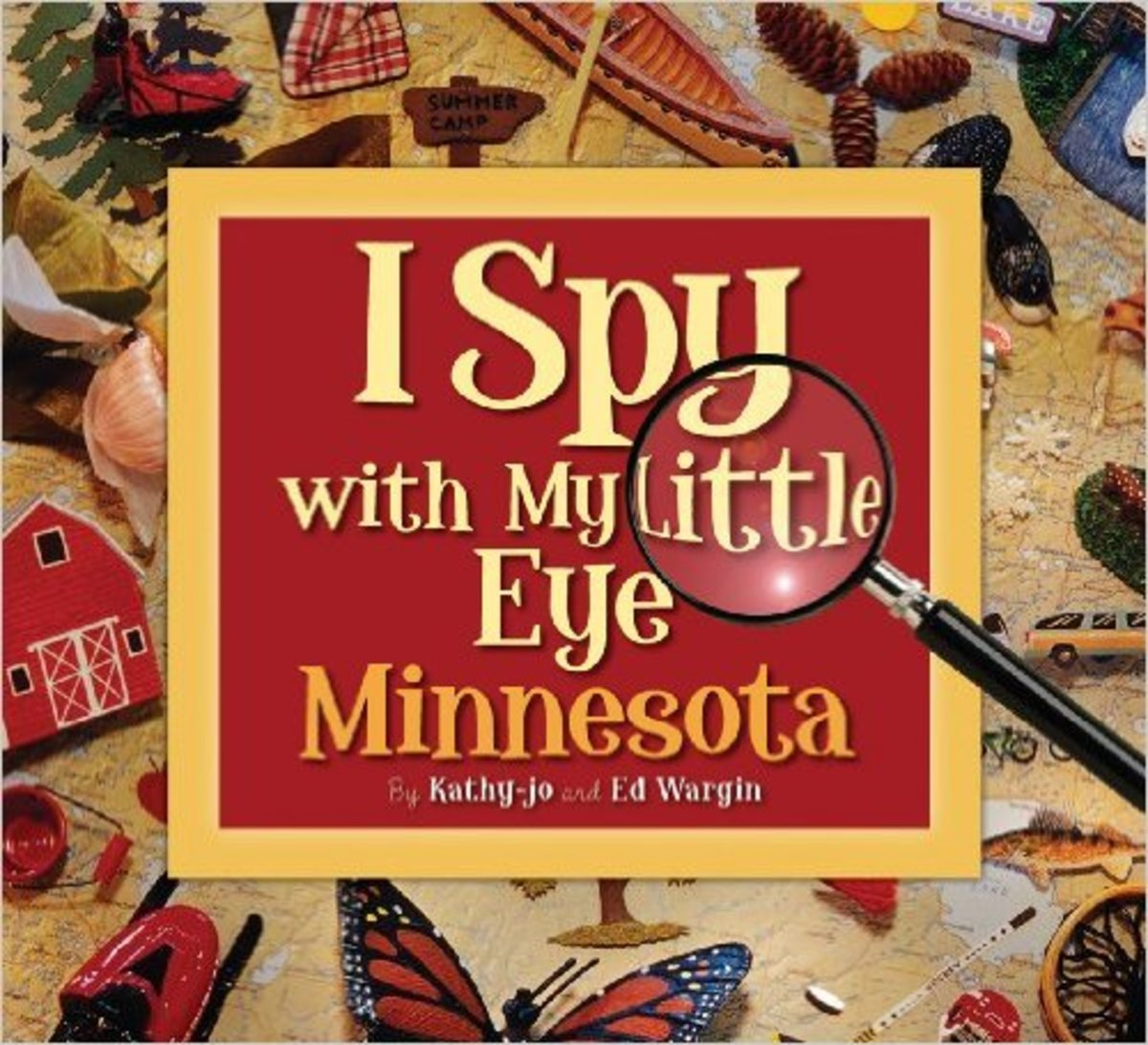 I Spy with My Little Eye Minnesota by Kathy-jo Wargin