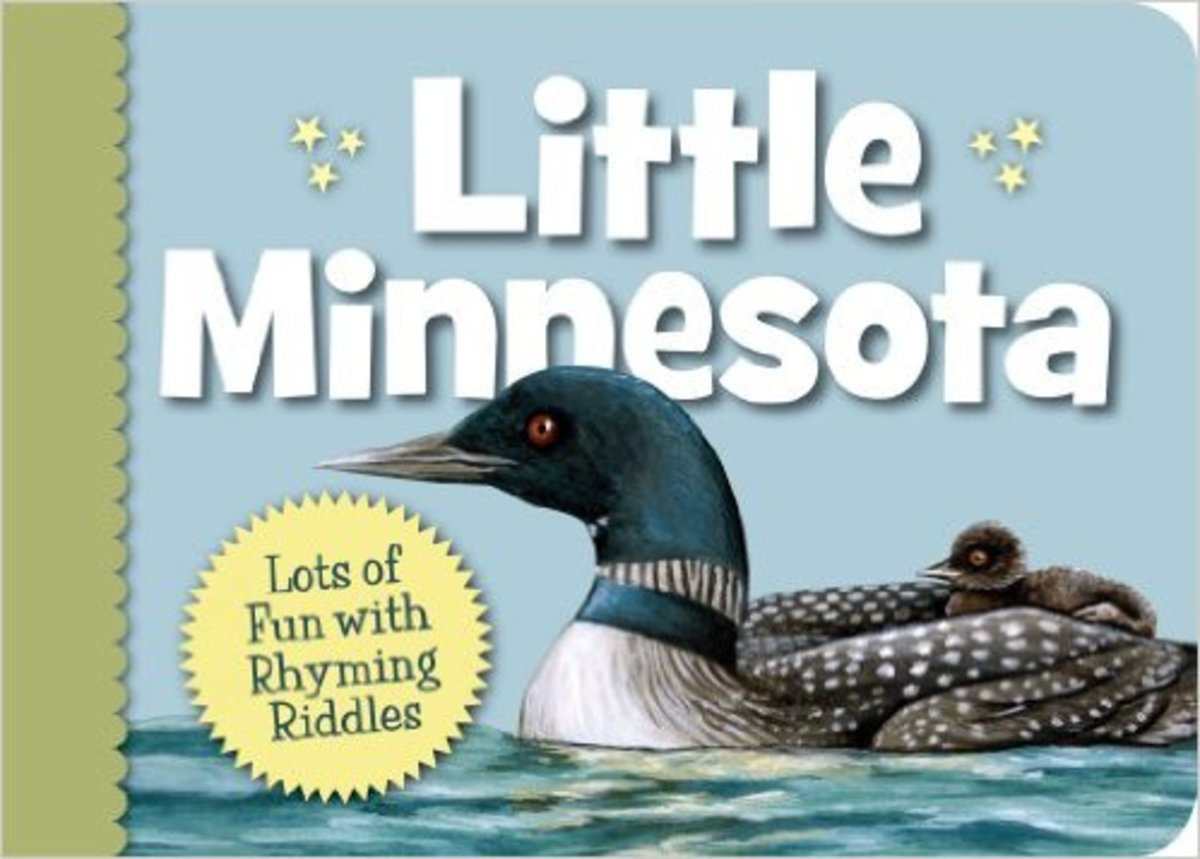 Little Minnesota (Little State) Board book by Kathy-jo Wargin - Book images are from amazon.com.