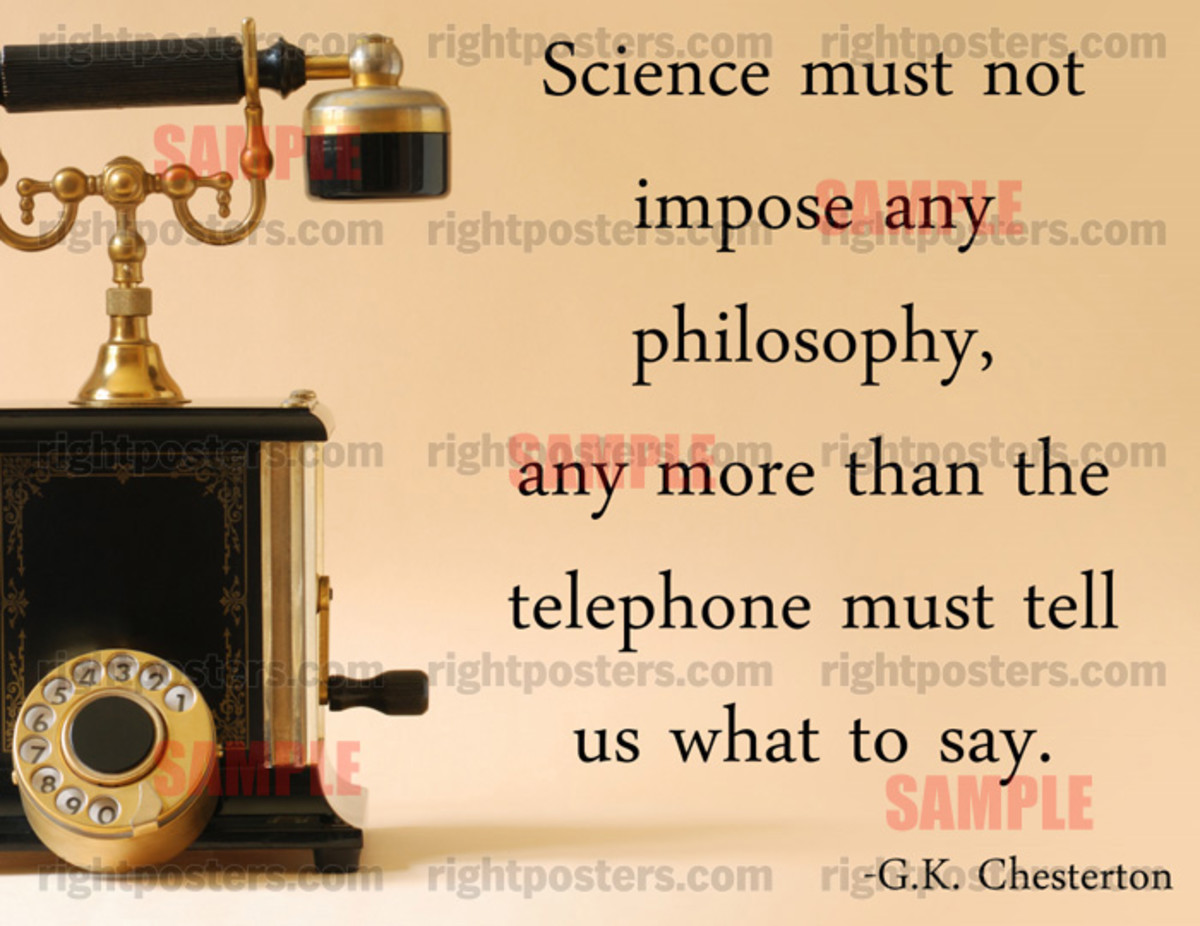 A Quote by G. K. Chesterton