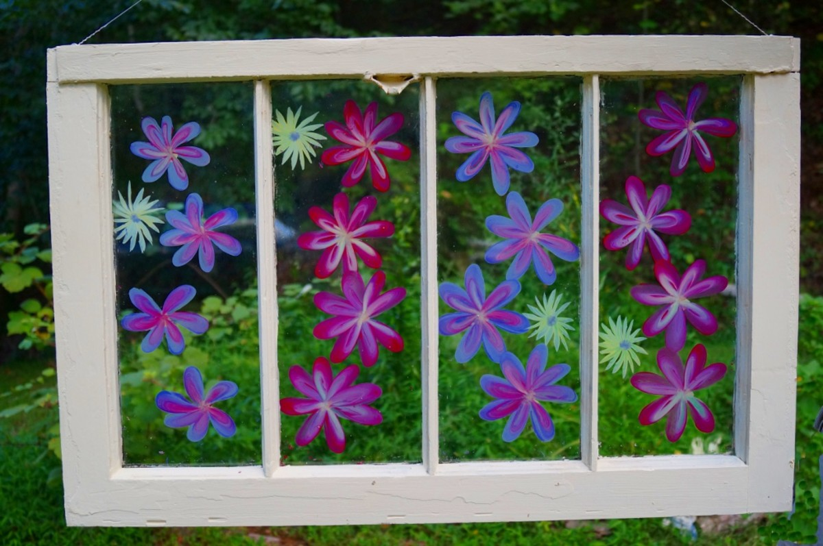 Abstract Art Flower Painting Ideas