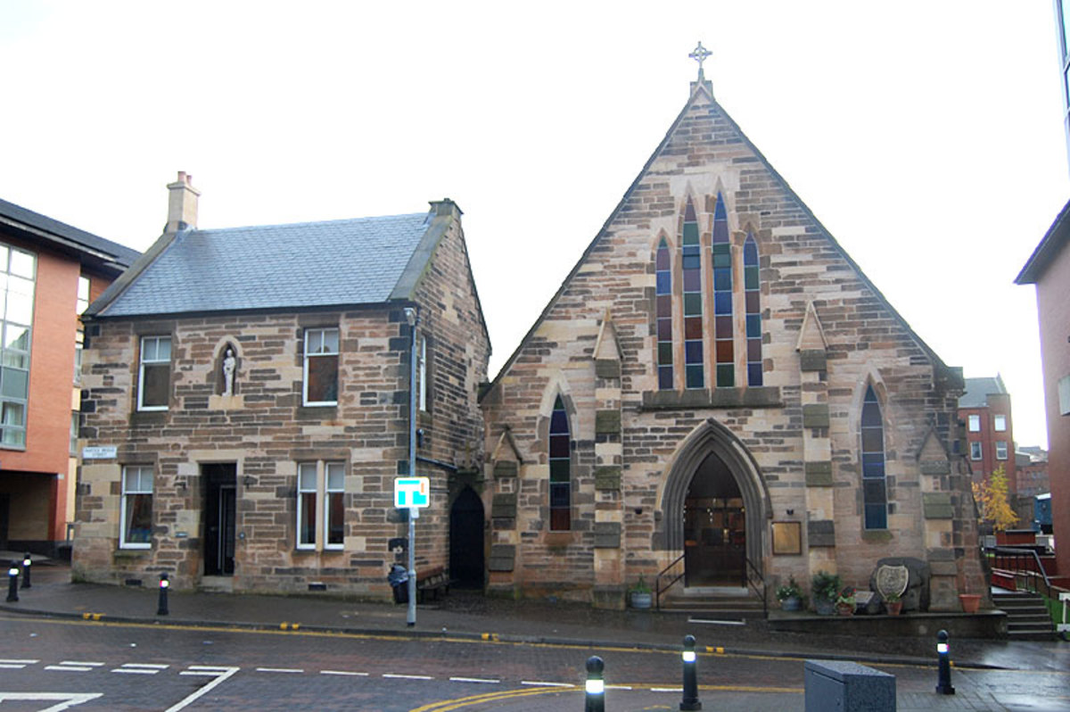 St Peter's Church built 1858.
