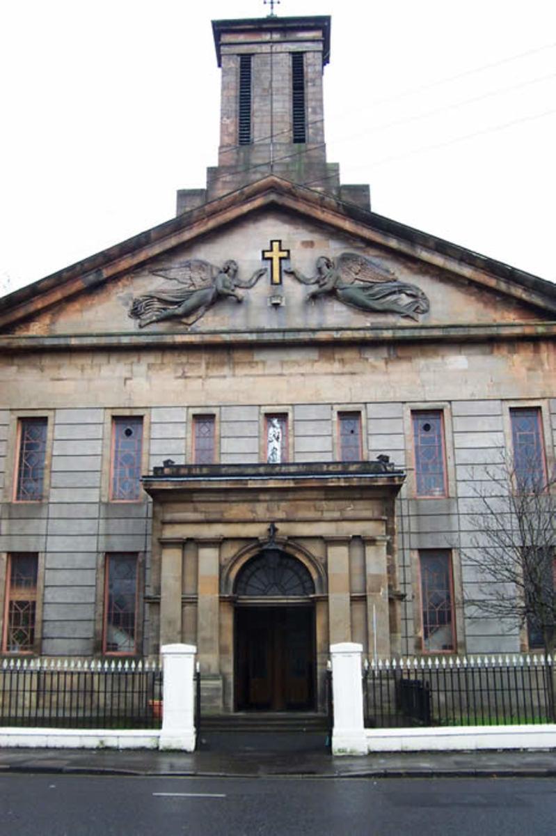 St. Mary's Church Calton built 1842. Glasgow's second oldest church.
