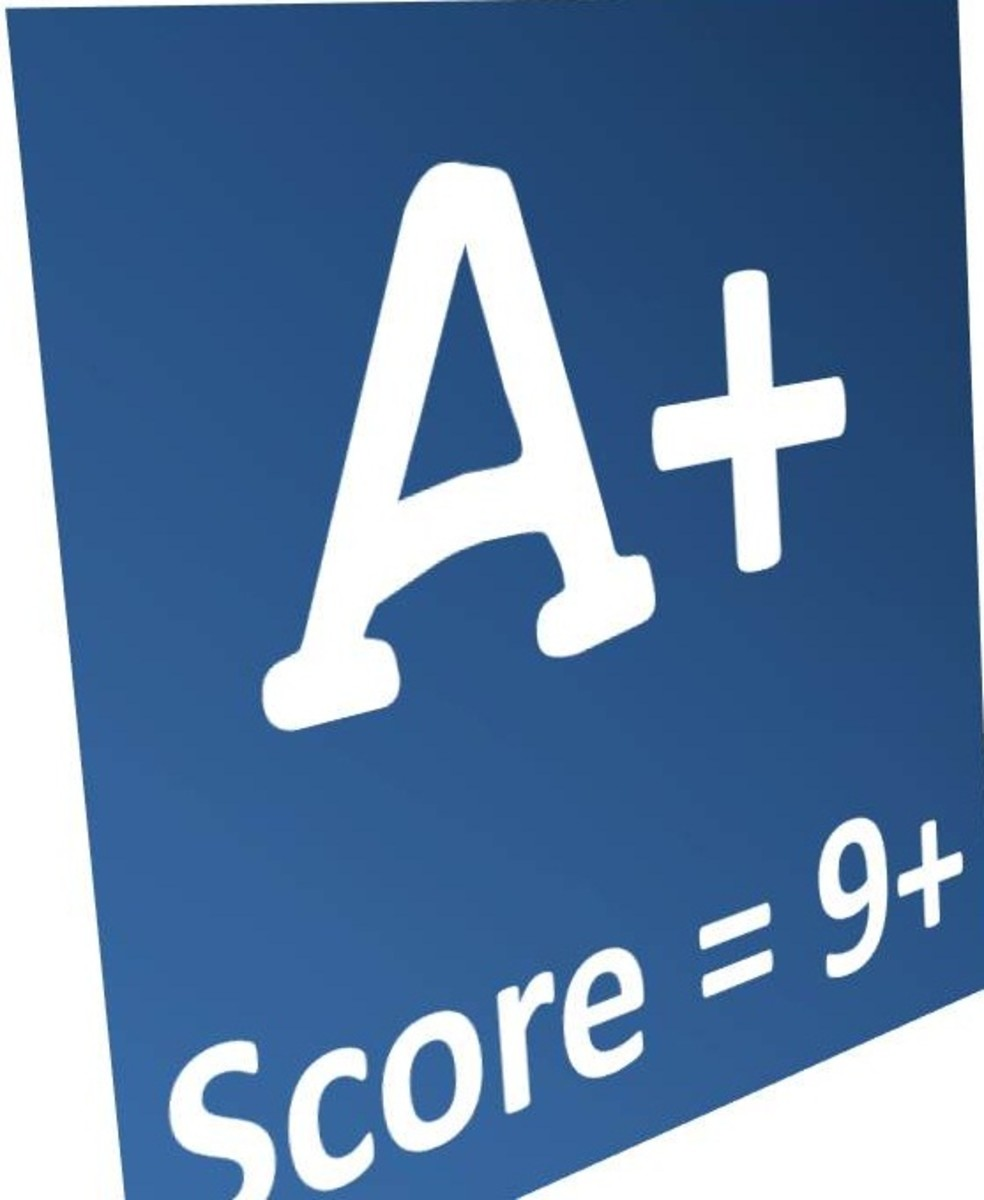 A higher score will mean a higher page rank.