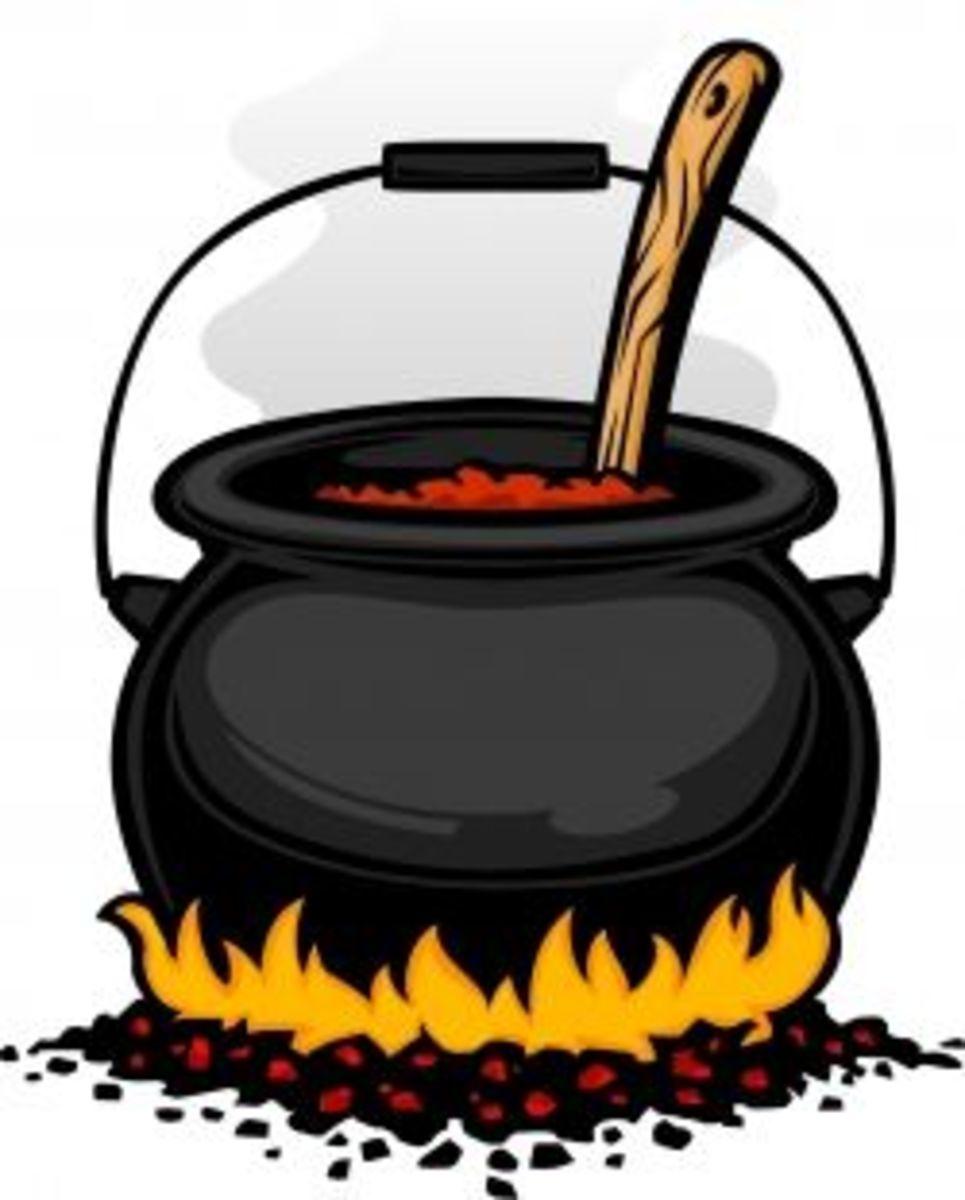 Cook a cauldron of chili this Halloween!