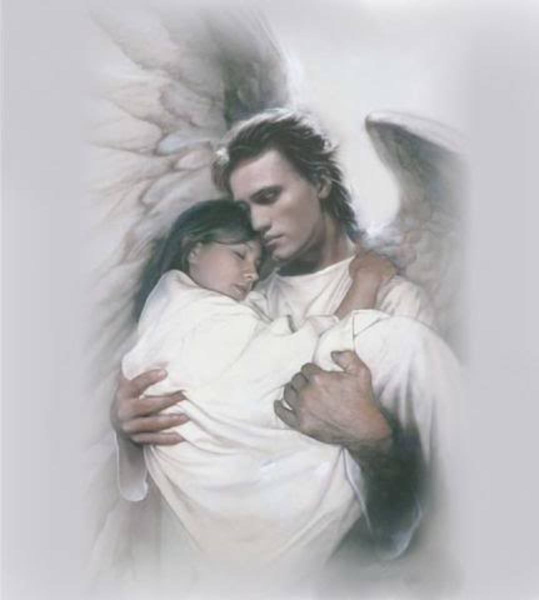 You carried me safe from harm. You are my Guardian Angel.