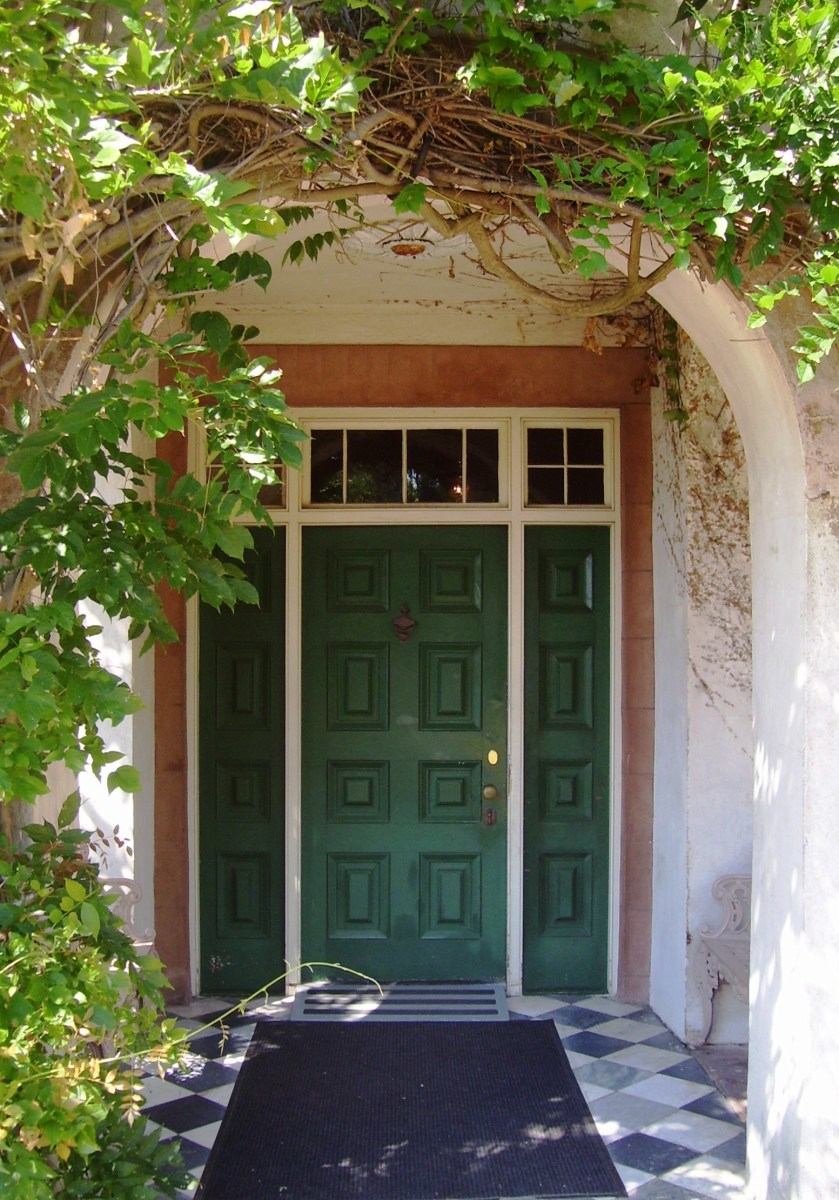 Your Front Door And Door Mat - The Feng Shui Energy Attraction Potential
