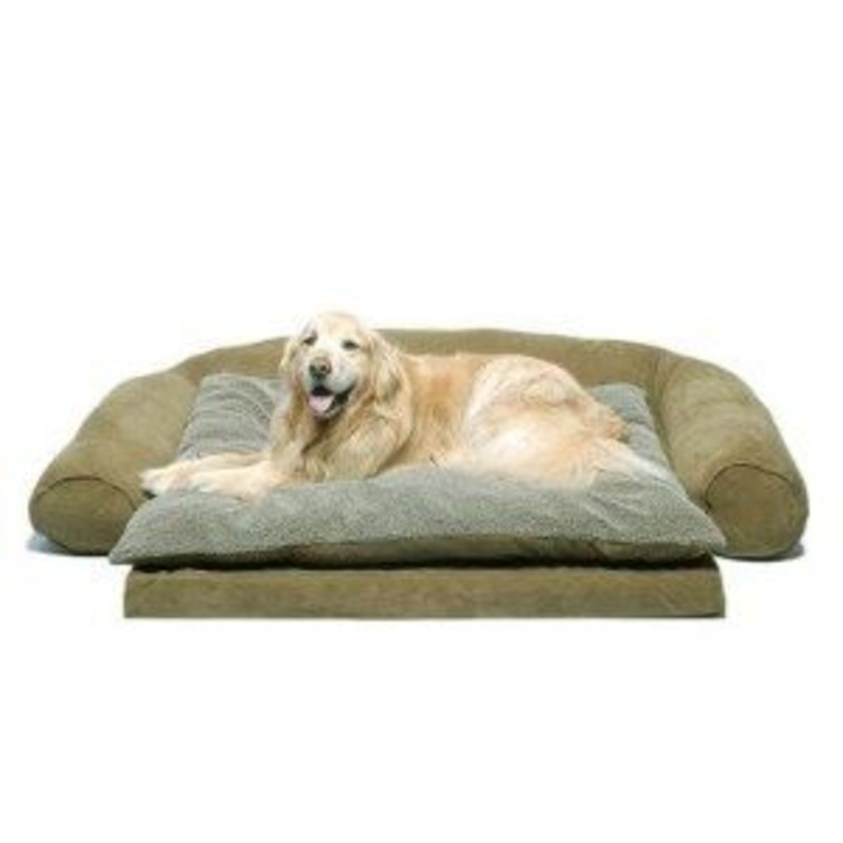 Orthopedic sleeper couch pet bed