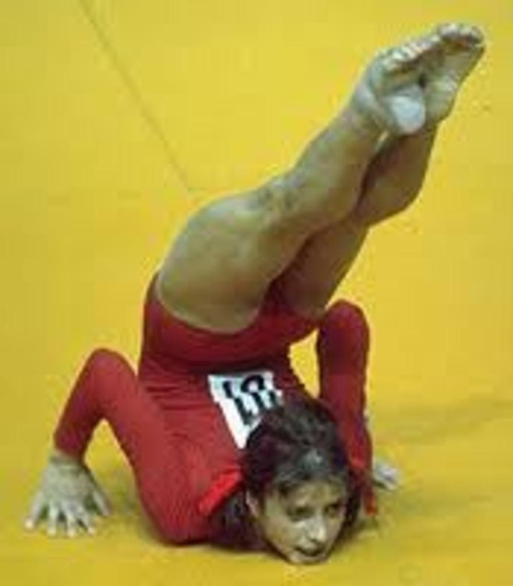 She Turned The Gymnastics World Upside Down