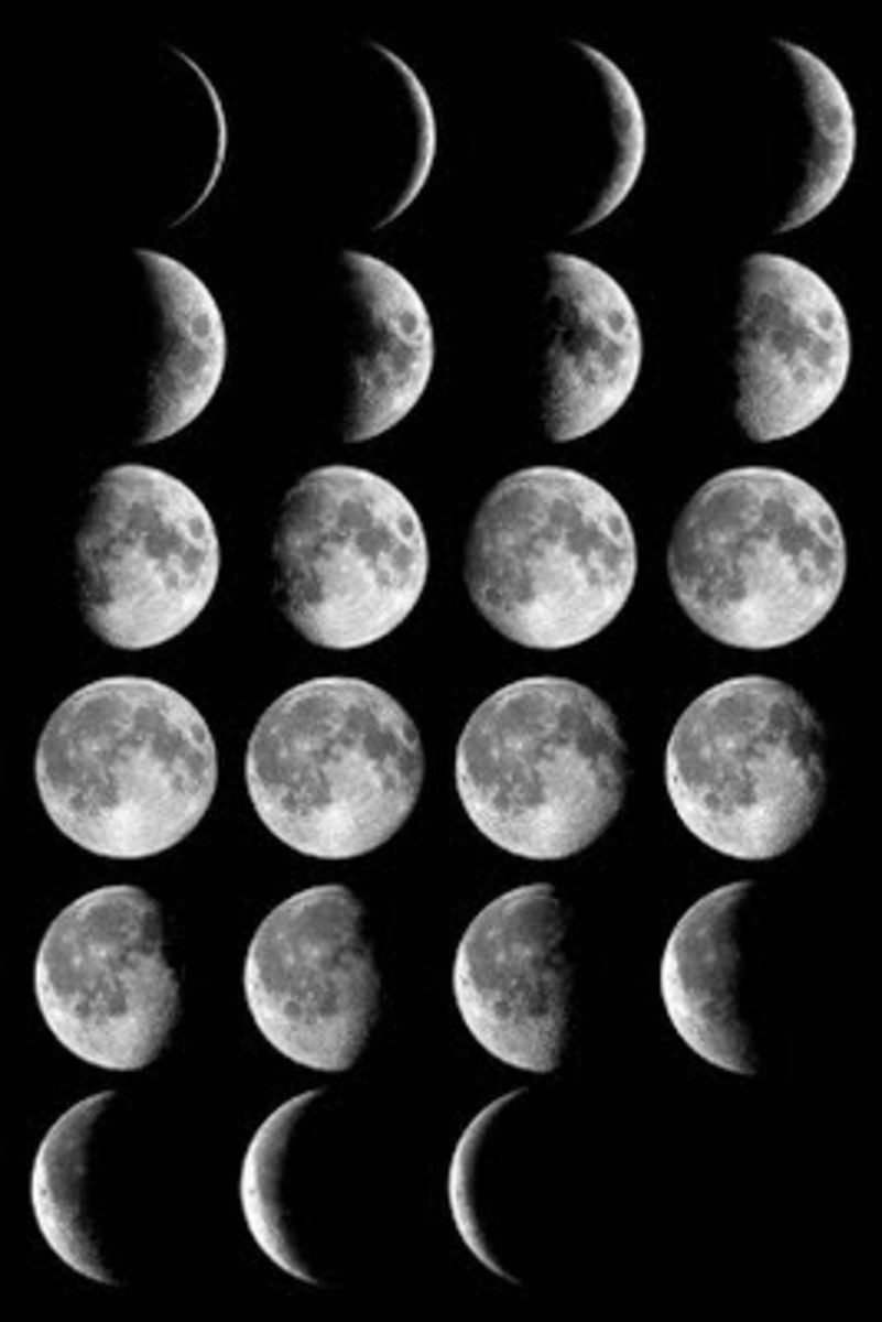 The phases of the moon are believed to be due the curse of Lord Ganesha.