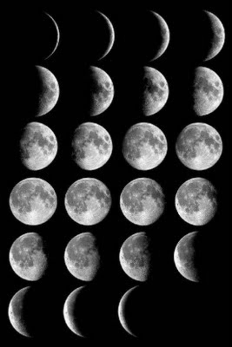 Las fases de la luna se cree que es debida la maldición del Señor Ganesha