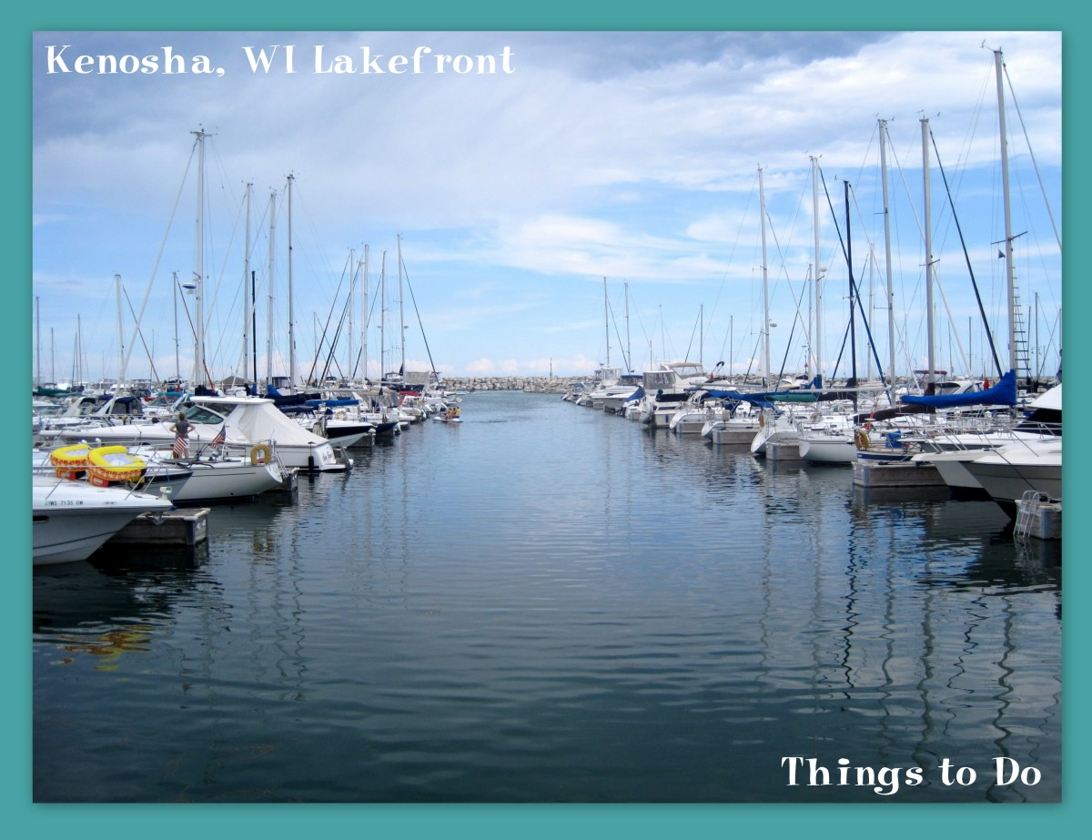 Kenosha, WI Lakefront: Things to Do