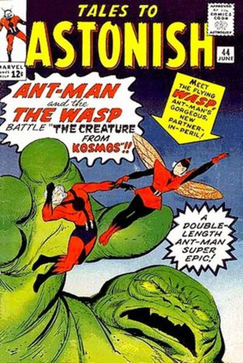 Tales to Astonish #44 - 1st appearance of Wasp