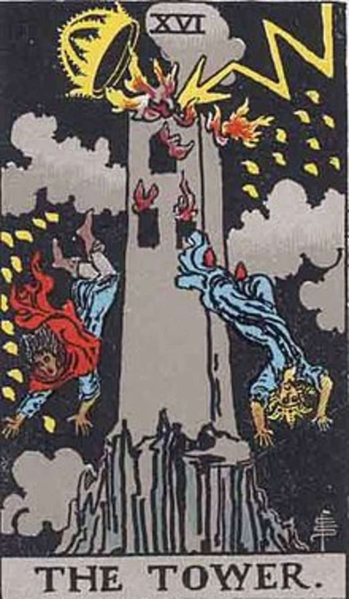 The tower represents complete destruction in order to build anew.