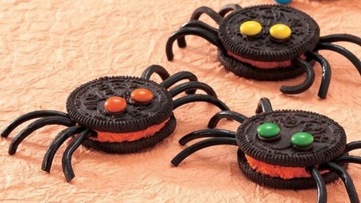 Oreo Spider Cookie