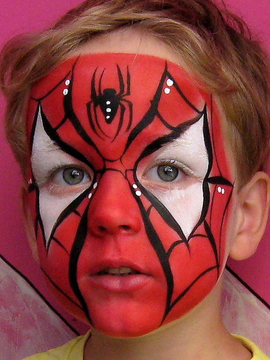 Spiderman Face Painting for Children: Tutorials, Tips and ...