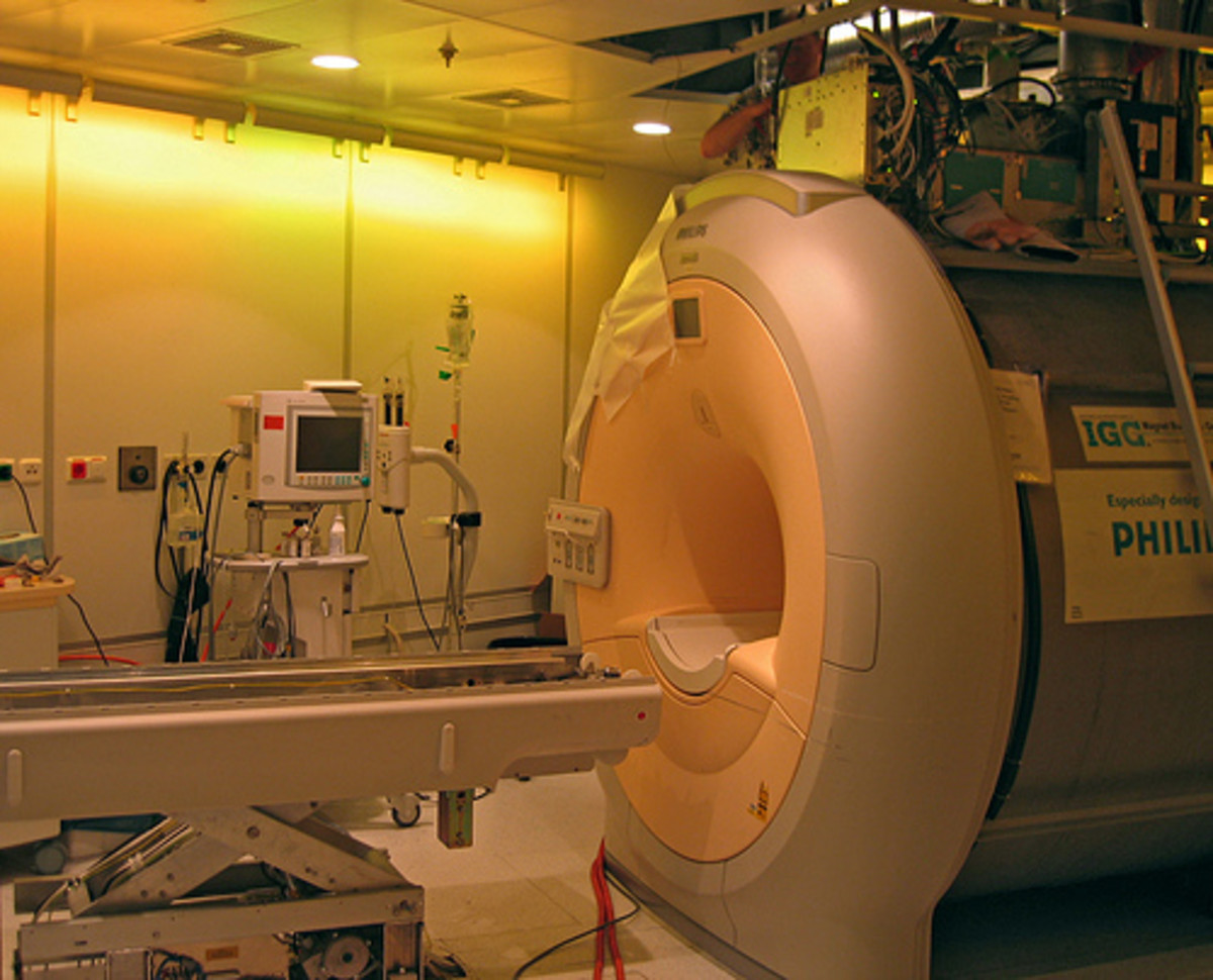 Claustrophobia is common in MRI scanners