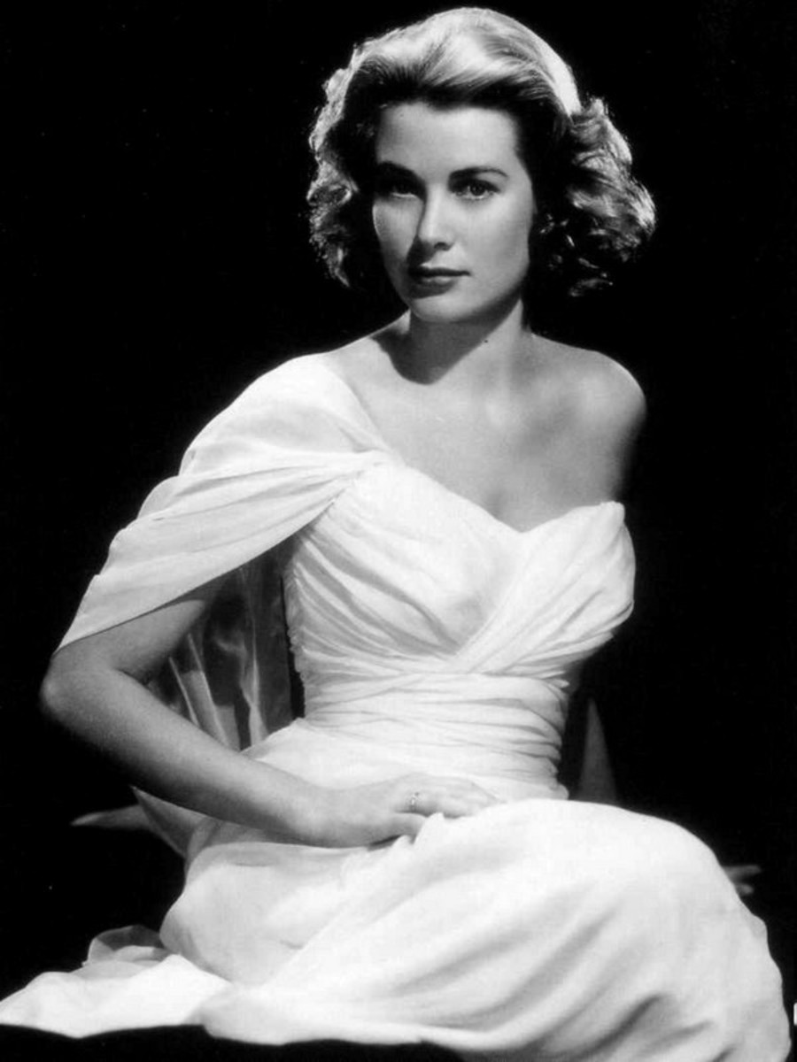 1950s Vintage Fashion Icon Grace Kelly