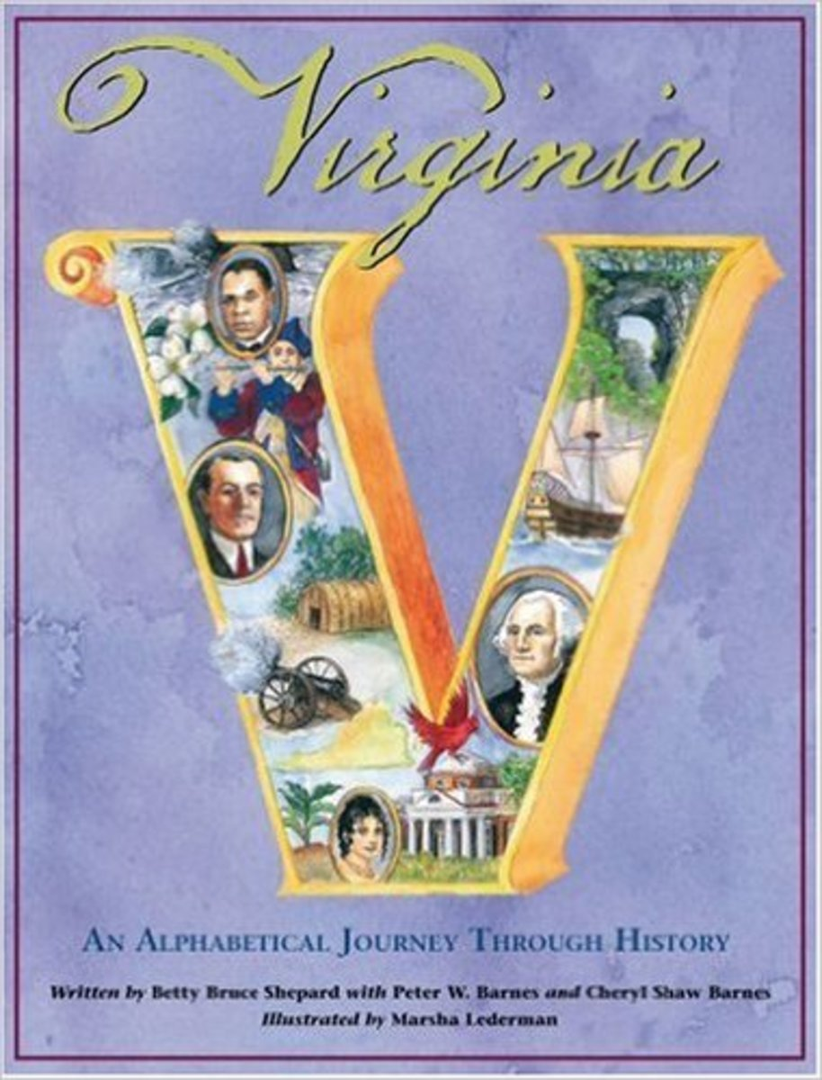 Virginia: An Alphabetical Journey Through History by Betty B. Shepard