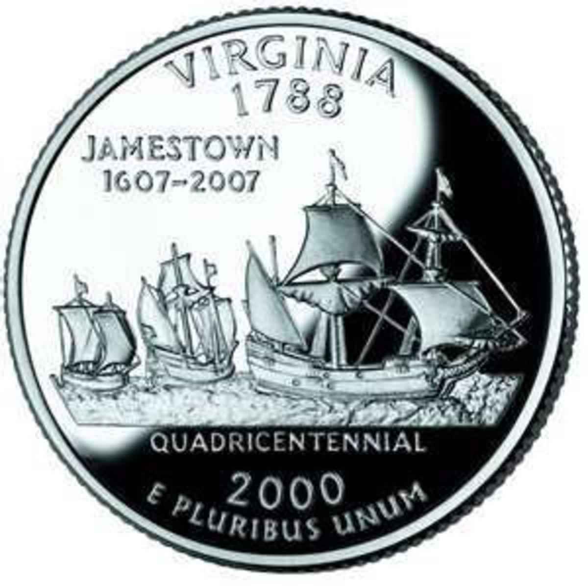 Virginia's State Quarter